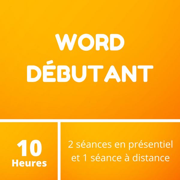 Word débutant